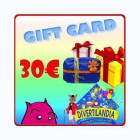 PARTY STREET Gift Card Euro 30.00