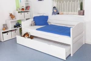 Steiner Shopping Childrens bed / Youth bet  Sleep K1/s Full, incl. trundle bed frame and cove