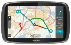 TomTom GO 6100 6 inch World Maps Sat Nav with Sim Card and Unlimited D
